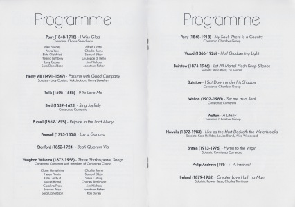 Great British Music programme