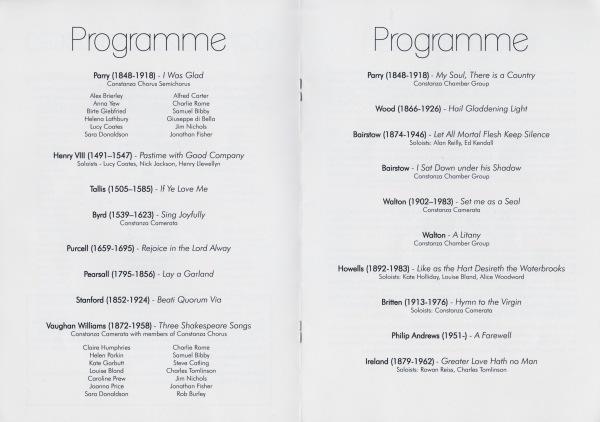 Great British Music programme