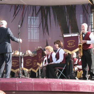 Philip soloing with Basingstoke Concert Band, Eastbourne - May 2008