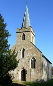 St Nicholas Church, Steventon
